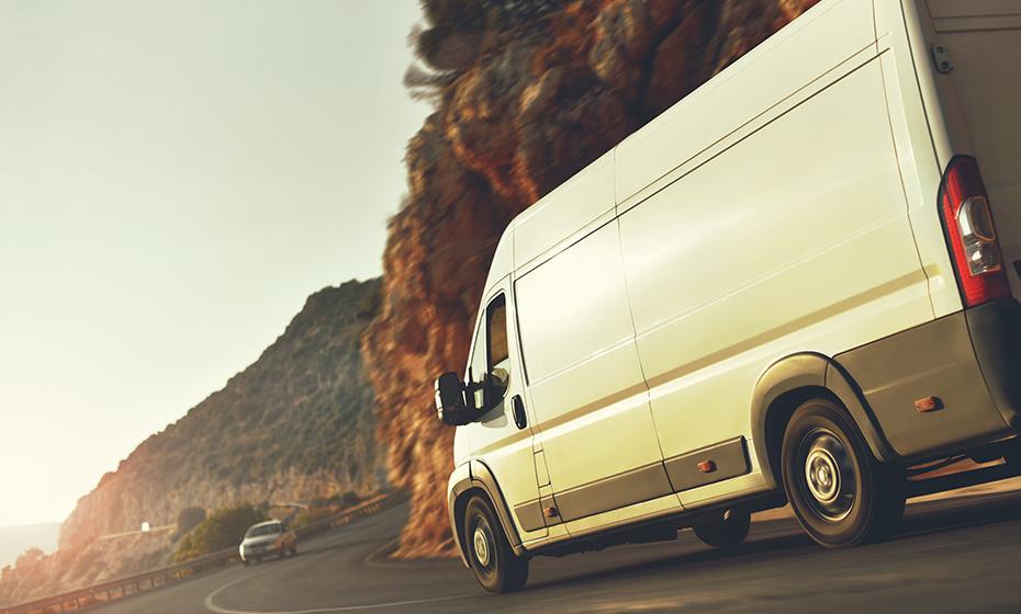 Used cargo van body