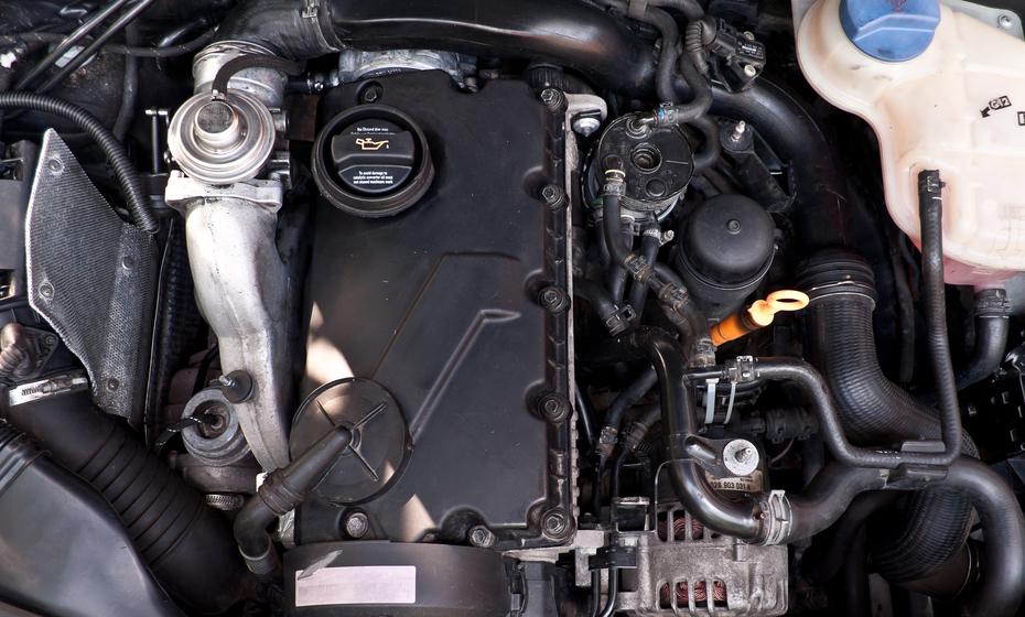 maintain beverage trailer diesel engine