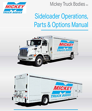 Mickey Sideloader 2015 Parts & Options Manual