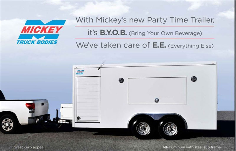 Mickey Party Trailer