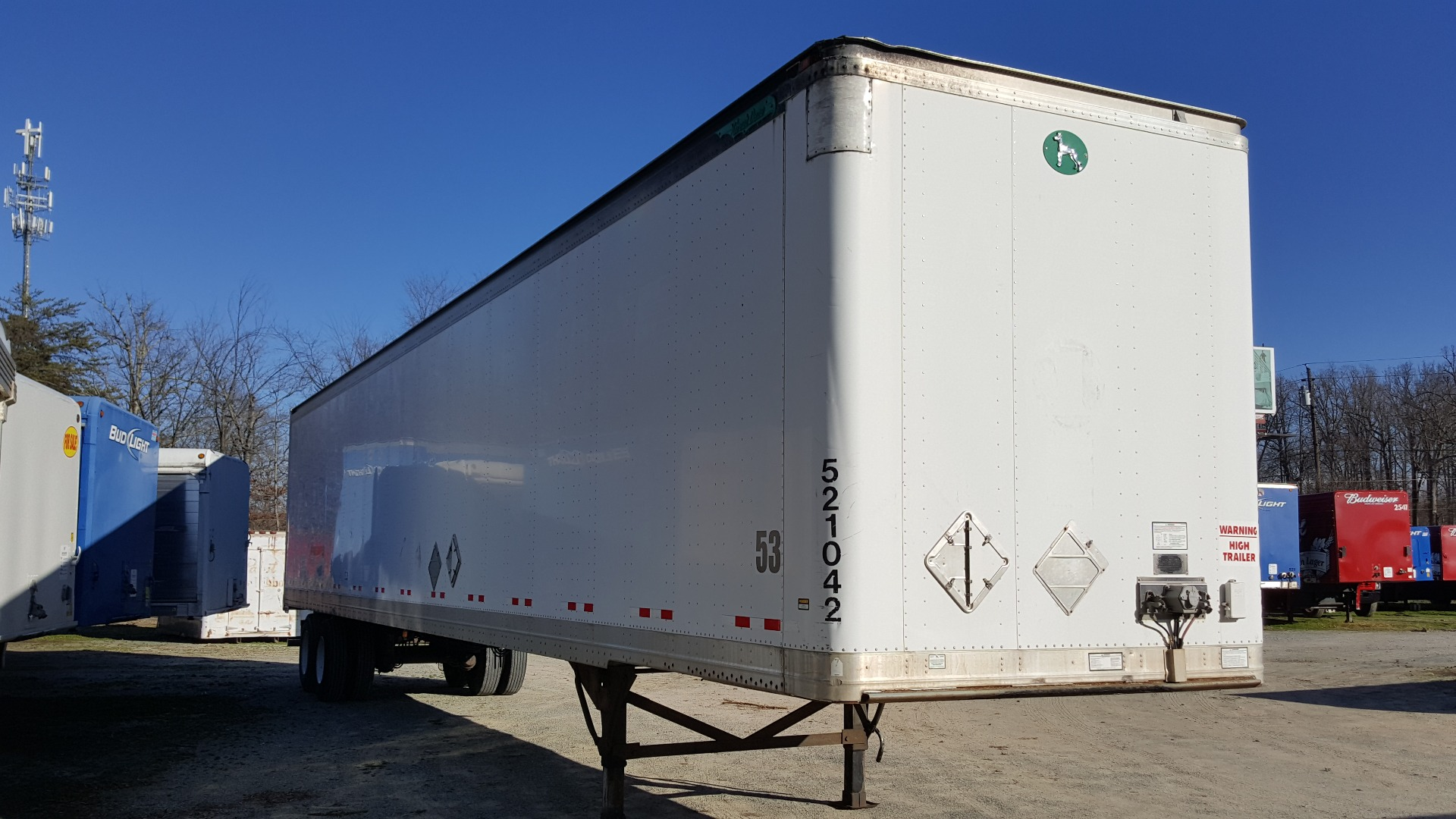 2007 Great Dane 53 ft Roll Up Door