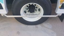 Mickey Wheelguard Step Bar with Grip Strut