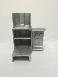"6"" Rail Bottom Corner Casting RH (Passenger Side Front & Driver Side Rear)"