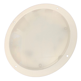 "8"" EV NEUTRAL WHT/RED INT LIGHT  (E08-LWR0-1)"