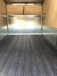 16' Black Synthetic Floor Board