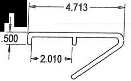 """Bumper Rail - AB (99.5"""")"""