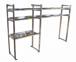2 bay Pass/Driver Side Shelves