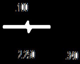 Front cap rail (FRP)