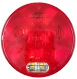 "4"" Round LED Stop Tail Turn , w/Backup Light (44556R)"