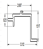 Front/Side connector (S&P)